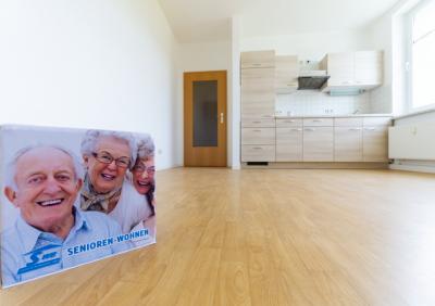 Seniorengerechte 1-Raum Wohnung zu vermieten!